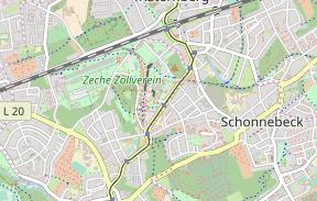 Casino Zollverein Karte