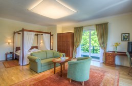 Hochzeitslocation: Junior Suite - Seehotel Billroth