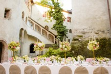 Heiraten - Art der Location: Schloss - Tiroler Unterland - Schloss Friedberg