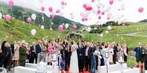 Heiraten - Art der Location: ausgefallene Location - Arlberg - arlberg1800 RESORT