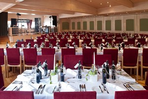 Heiraten - barrierefreie Location - Saal ohne Hussen - Hotel Krone