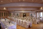 Heiraten - barrierefreie Location - Saal mit Hussen - Hotel Krone