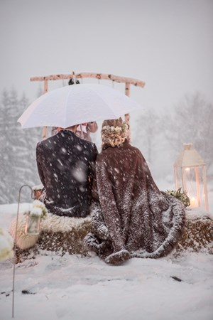 Heiraten - in den Bergen - Tirol - Winter Trauung  - Hochzeitsinsel