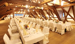 Heiraten - Art der Location: privates Anwesen - Mozarthaus St. Gilgen am Wolfgangsee