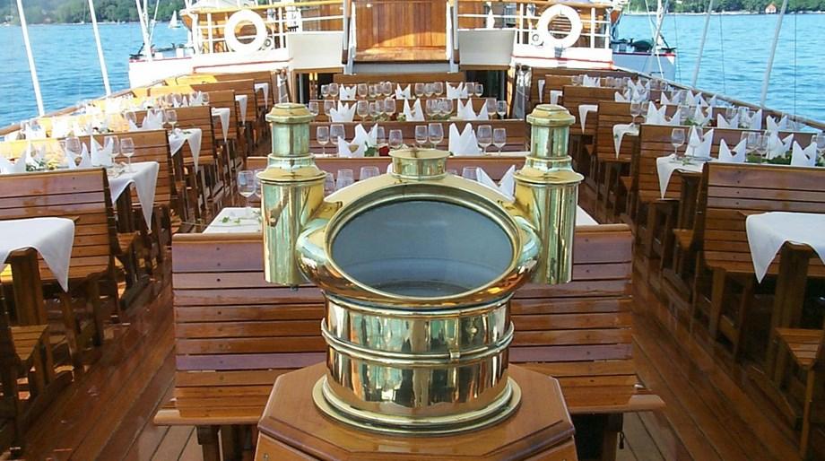 Historisches Dampfschiff Hohentwiel Am Bodensee Hochzeitslocation