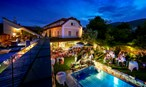 Heiraten - Festzelt - Am Pool die Party knallen lassen - Hotel Landhaus Moserhof****