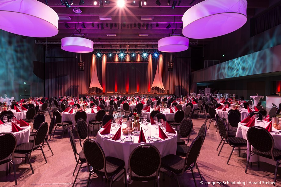 Hochzeitslocation: Gala Saal Schladming  - congress Schladming