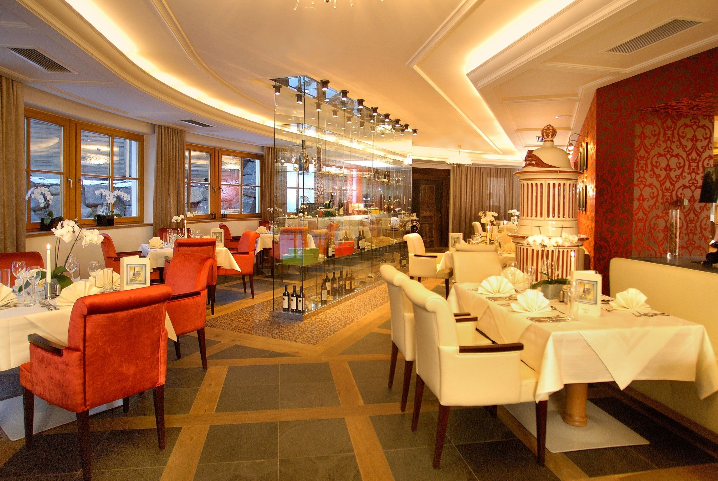Hochzeitslocation: Red Oyster Restaurant - Alpine Palace***** New Balance Luxus Resort