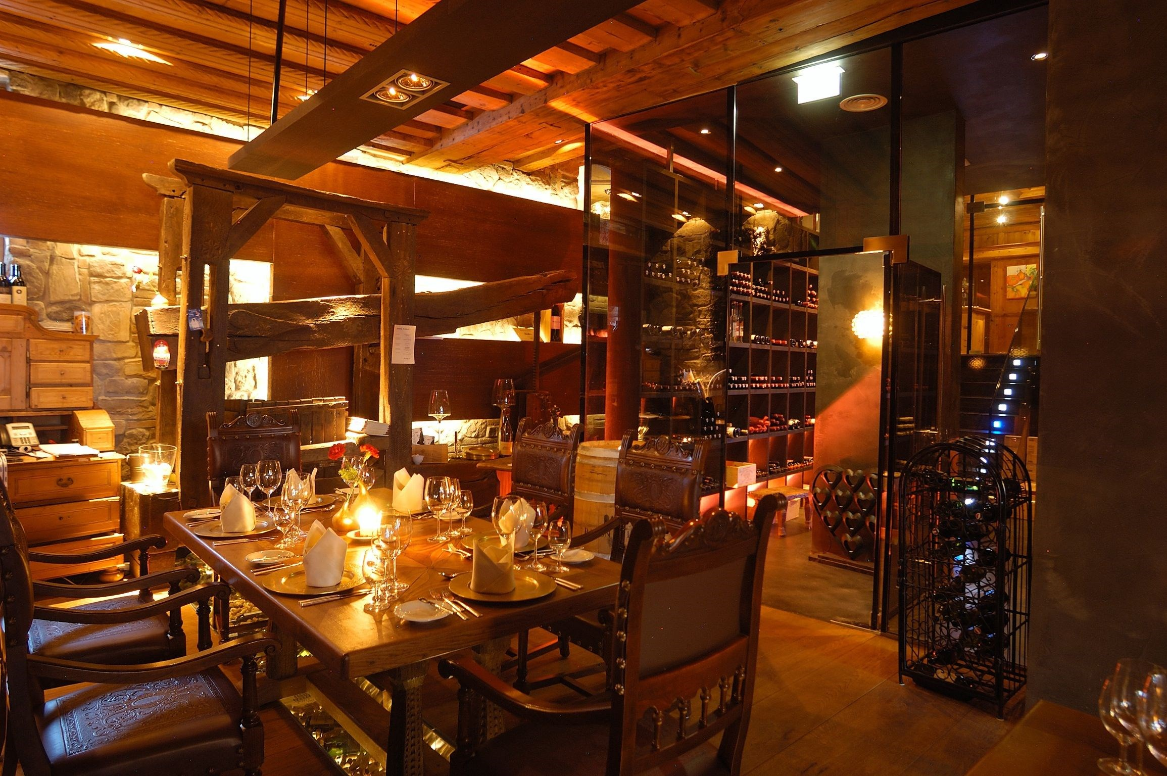 Hochzeitslocation: Weinkeller & 2 Haben Restaurant Arte Vinum - Alpine Palace***** New Balance Luxus Resort