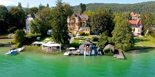 Heiraten - Art der Location: ausgefallene Location - Kärnten - Hotel SCHLOSSVILLA MIRALAGO - die wundervolle, einzigartige Location direkt am Wörthersee -
